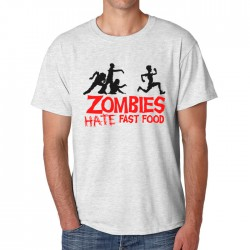 Футболка Zombie Hate Fast Food